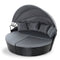 Outdoor Round Day Bed Setting - Black - Factory Direct Oz