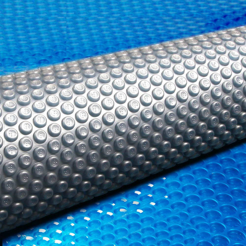 Aquabuddy 10M X 4.7M Solar Swimming Pool Cover - Blue - Factory Direct Oz