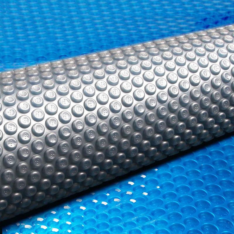 Aquabuddy 8.5 X 4.2m Solar Swimming Pool Cover - Blue - Factory Direct Oz