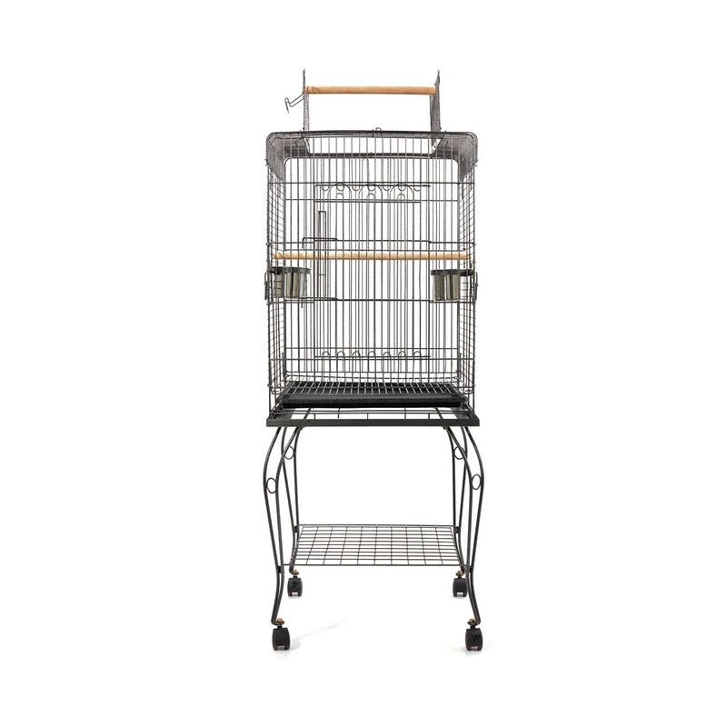 i.Pet Large Bird Cage with Perch - Black - Factory Direct Oz