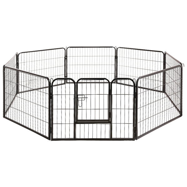i.Pet 8 Panel Metal Dog Enclosure - Factory Direct Oz