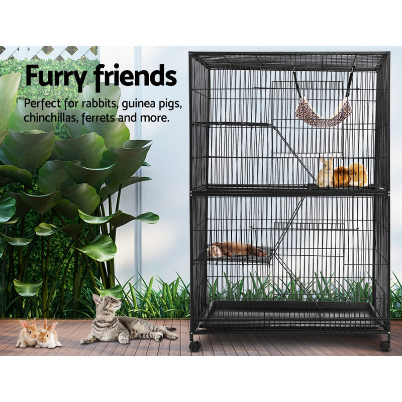 i.Pet 4 Level Rabbit/Ferret/Bird Cage - Factory Direct Oz