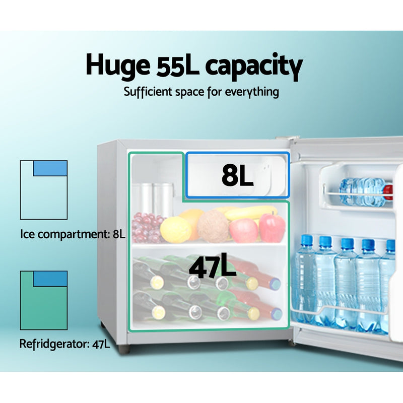 Glacio 55L Portable Bar Fridge/Freezer - 12V/24V/240V - Factory Direct Oz