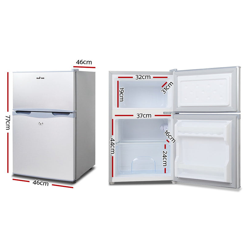 Glacio 65L Portable Fridge/Freezer - 12V/24V/240V - Factory Direct Oz
