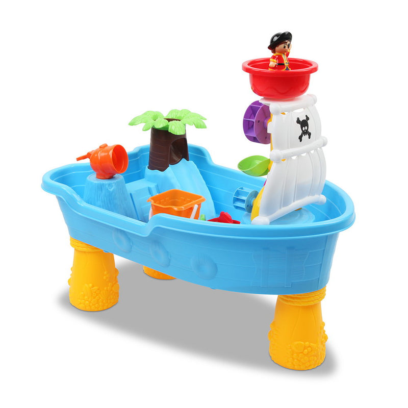 Pirate Ship Sand & Water Play Table - Factory Direct Oz