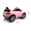Rigo Kids Ride On Car  - Pink - Factory Direct Oz
