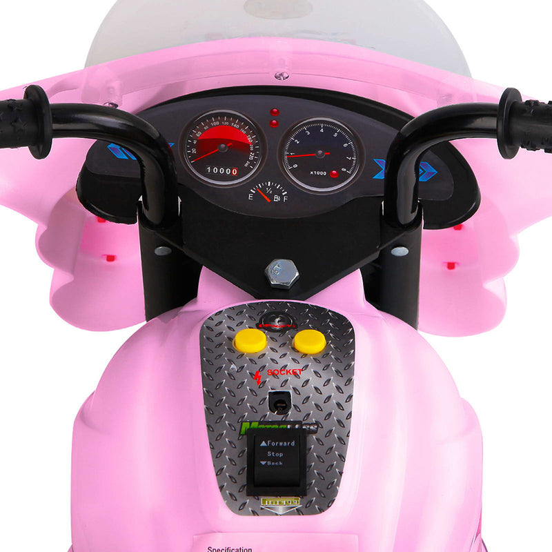 Highway Patrol Motorbike - Pink - Factory Direct Oz