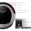 Devanti Robotic Vacuum Cleaner - Black & Grey - Factory Direct Oz