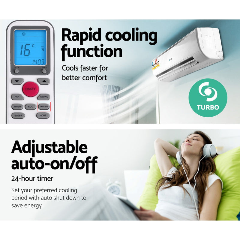 2.7KW Split System Air Conditioner - Factory Direct Oz
