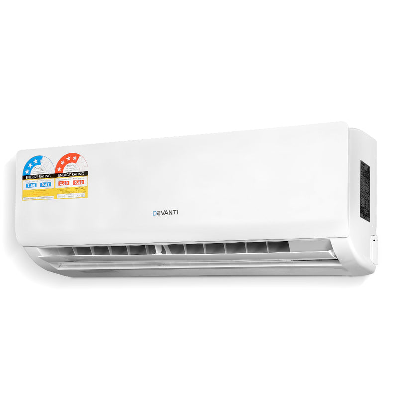 2.5kW 4-in-1 Split System Inverter Air Conditioner - Factory Direct Oz