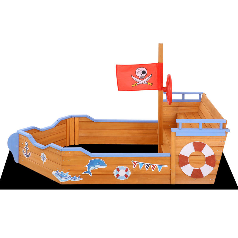 Pirate Ship Sand Pit - Factory Direct Oz