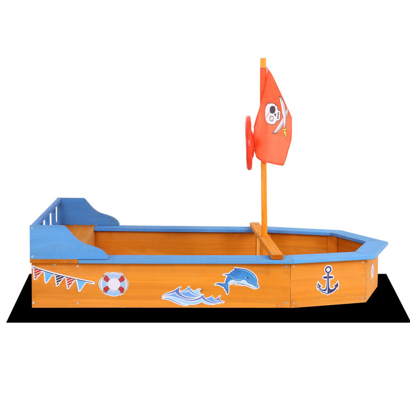 Boat-Shaped Sand Pit - Factory Direct Oz