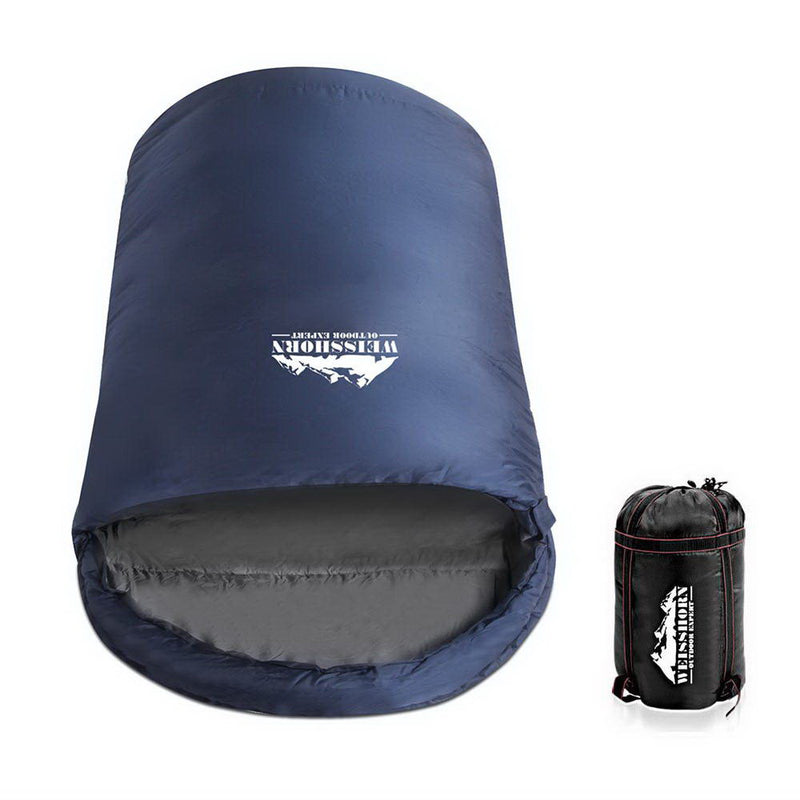 Weisshorn Extra Large Sleeping Bag - Navy - Factory Direct Oz