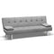 Artiss 3 Seater Fabric Sofa Bed - Grey - Factory Direct Oz