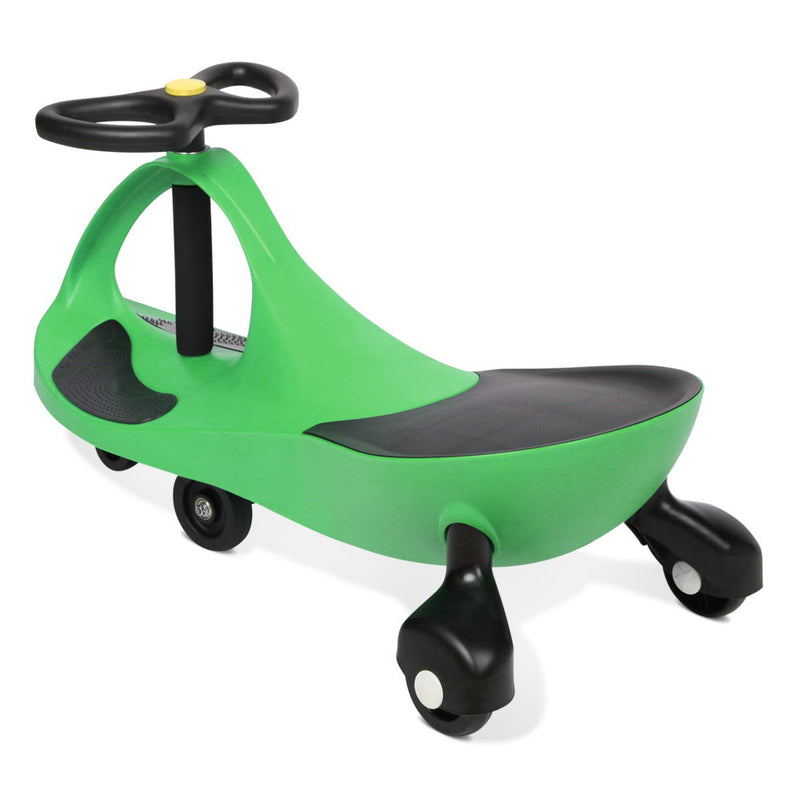 Keezi Kids Ride On Swing Car  -Green - Factory Direct Oz