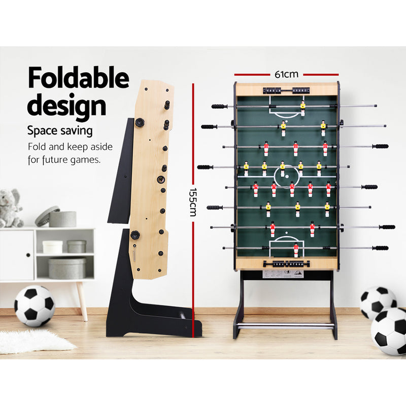 4FT Foldable Foosball Table - Factory Direct Oz