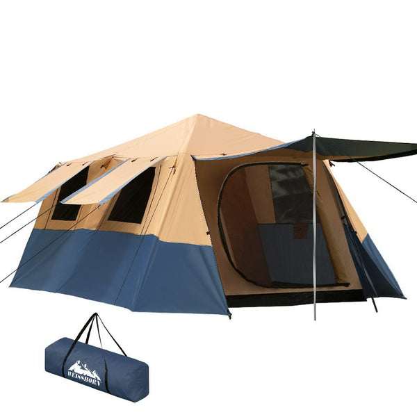 Weisshorn 8 Person Instant Up Tent - Factory Direct Oz