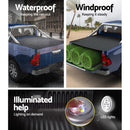 Weisshorn Tonneau Cover - Fit Mitsubishi MQ Triton Dual Cab - Factory Direct Oz