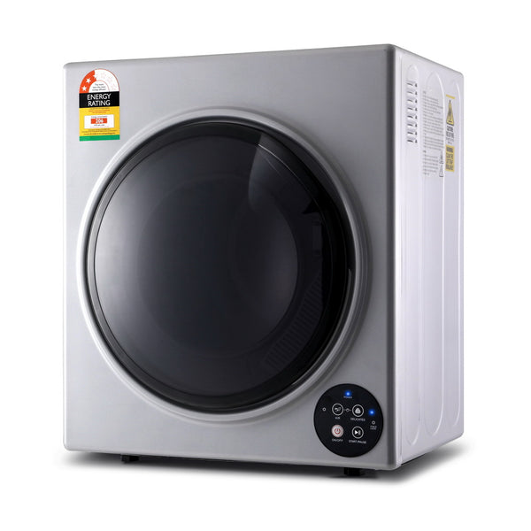 Devanti 6kg Tumble Dryer - Silver - Factory Direct Oz