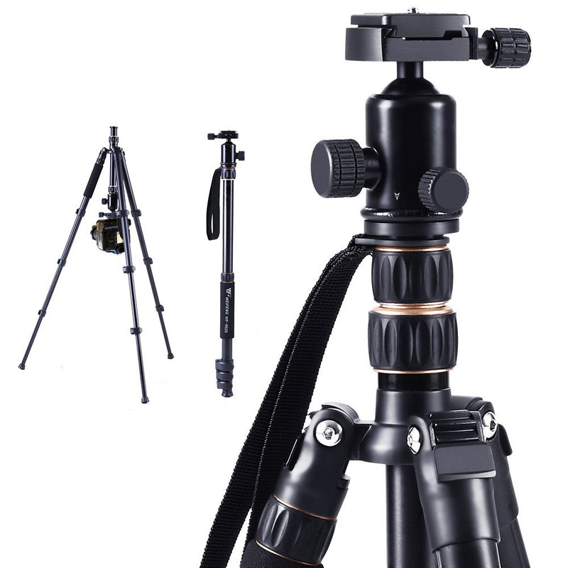 Weifeng Professional 2-in-1 Ball Head Camera Tripod/Monopod - Factory Direct Oz