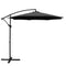 Instahut 3M Cantilevered Outdoor Umbrella - Black - Factory Direct Oz