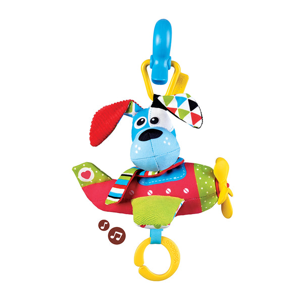 Tap 'N' Play Musical Plane & Dog - Factory Direct Oz
