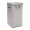 Tall Nursery Clothing Hamper - Cool Grey - Factory Direct Oz