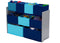 Extra Wide Multi Bin - Blue - Factory Direct Oz