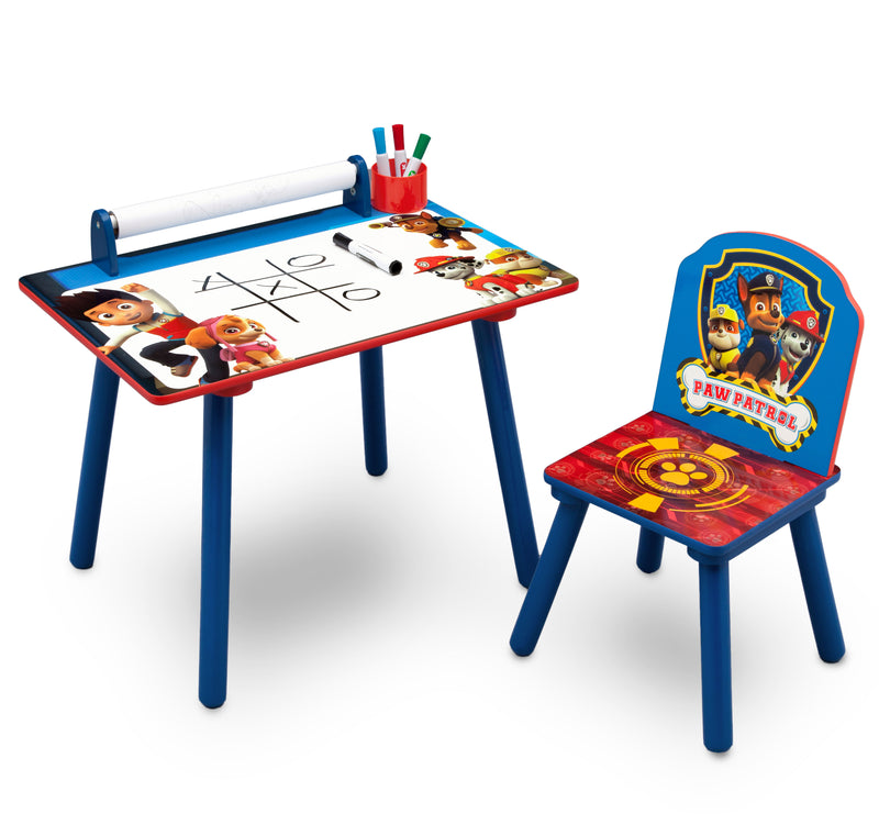Paw Patrol Activity Desk with Paper Roll - Factory Direct Oz