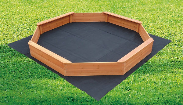 Large Octagonal Wooden Sandpit - Factory Direct Oz