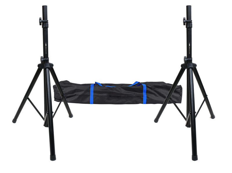 Tripod DJ PA Speaker Stand Set with Carry Bag - Factory Direct Oz
