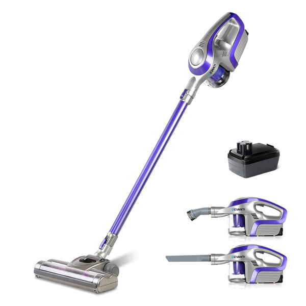 Devanti 150W Handheld Cordless Vacuum Cleaner - Factory Direct Oz