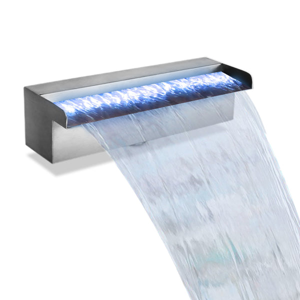 Gardeon LED Light Water Blade Feature Waterfall 30cm - Factory Direct Oz