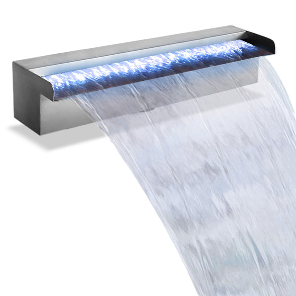 Gardeon LED Light Water Blade Waterfall Feature - Factory Direct Oz