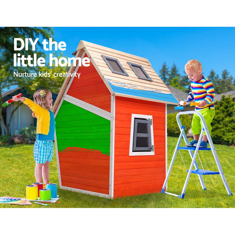 Kids Wooden Cubby House - Factory Direct Oz
