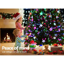 Jingle Jollys 2.4M/8FT LED Christmas Tree - Multi Colour - Factory Direct Oz