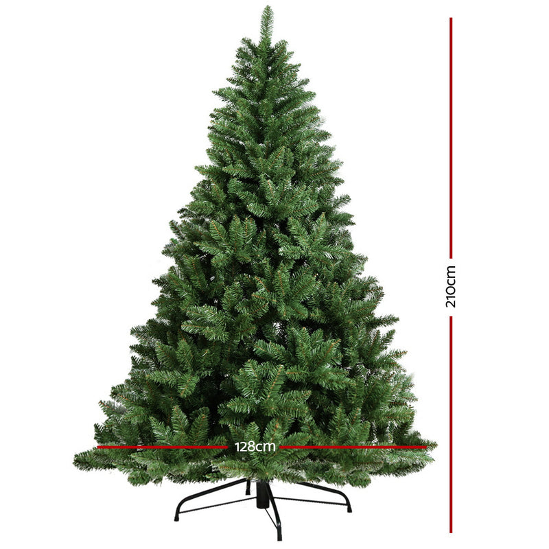 Jingle Jollys 7FT Christmas Tree - Green - Factory Direct Oz