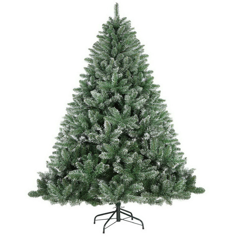 Jingle Jollys 7FT Snow Tips Christmas Tree - Factory Direct Oz