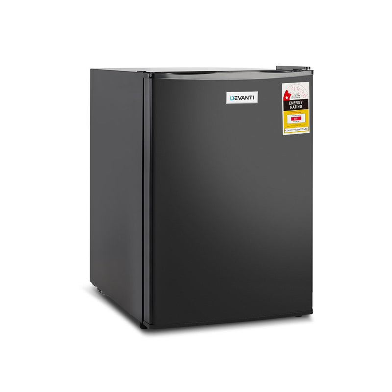 70L Portable Mini Bar Fridge - Black - Factory Direct Oz