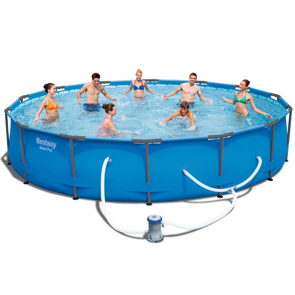 Bestway 14' Above Ground Swimming Pool - Factory Direct Oz