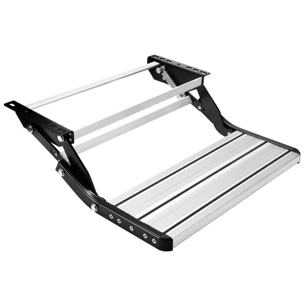 Pull Out Aluminium Folding Caravan Step - Factory Direct Oz