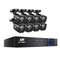 8CH 5 IN 1 DVR CCTV Security System  /w 8 Cameras 1080P HDMI - Factory Direct Oz