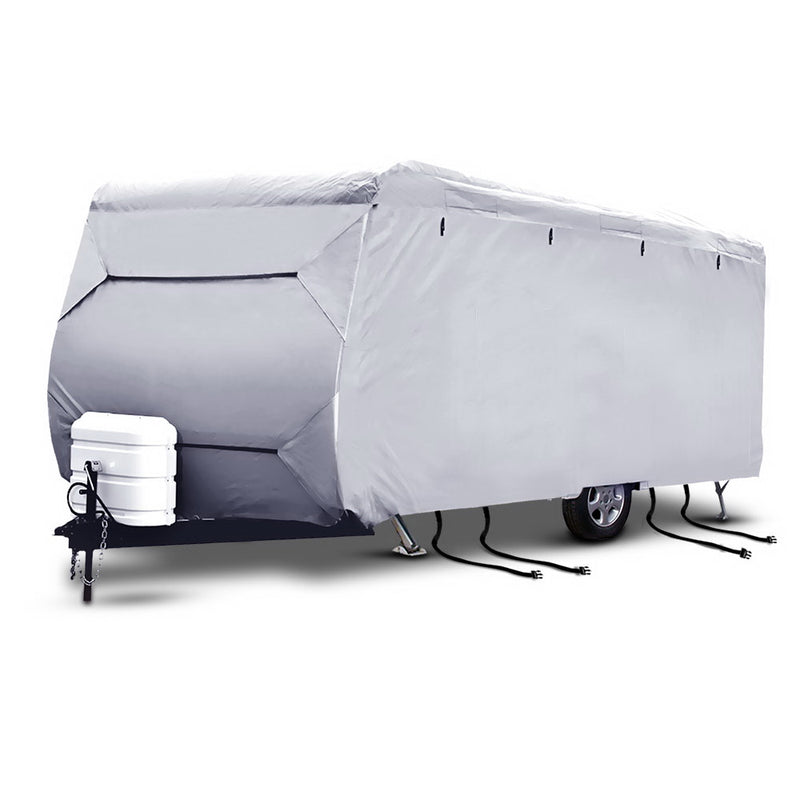 20-22ft Caravan/Campervan 4 Layer UV Waterproof Cover - Factory Direct Oz