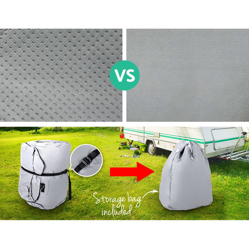 16-18ft Caravan/Campervan 4 Layer UV Waterproof Cover - Factory Direct Oz