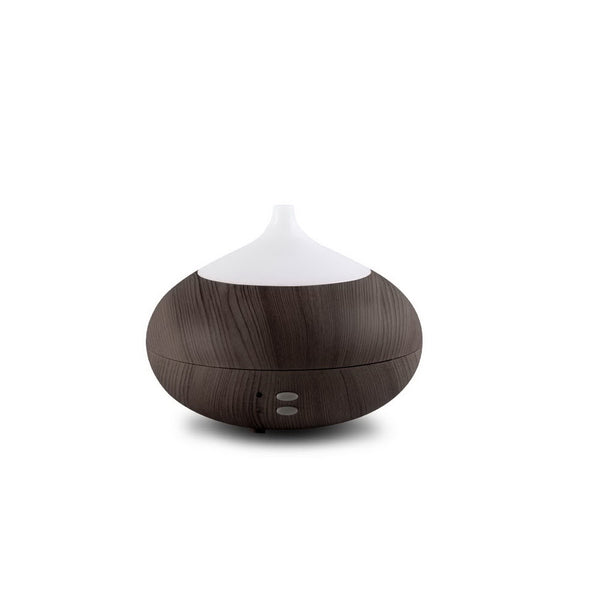 4 in 1 Aroma Diffuser 300ml - Dark Wood - Factory Direct Oz