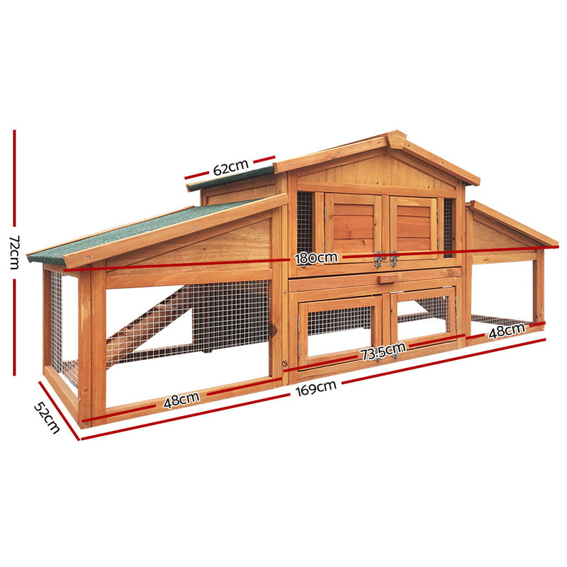 2 Storey Chicken Coop - Factory Direct Oz