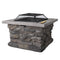 Outdoor Stone Fire Pit - Factory Direct Oz