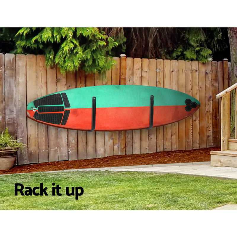 Alumimium Wall Mounted Surfboard Rack - Factory Direct Oz
