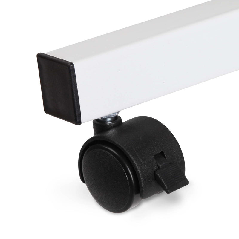 Adjustable Laptop Stand with Cooler Fan - White - Factory Direct Oz