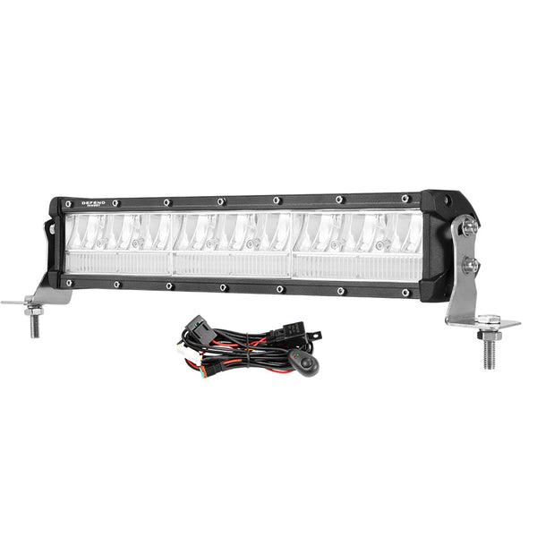 DEFEND 12inch CREE LED Dual Row Light Bar - Factory Direct Oz